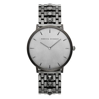 Rebecca Minkoff Major Ladies' Gunmetal Plated Bracelet Watch - Product number 9744800