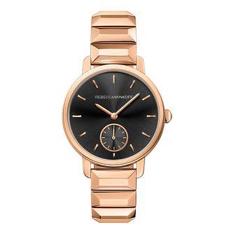 Rebecca Minkoff Bffl Ladies' Rose Gold Tone Bracelet Watch - Product number 9744851