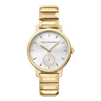 Rebecca Minkoff Bffl Ladies' Gold Tone Bracelet Watch - Product number 9744916