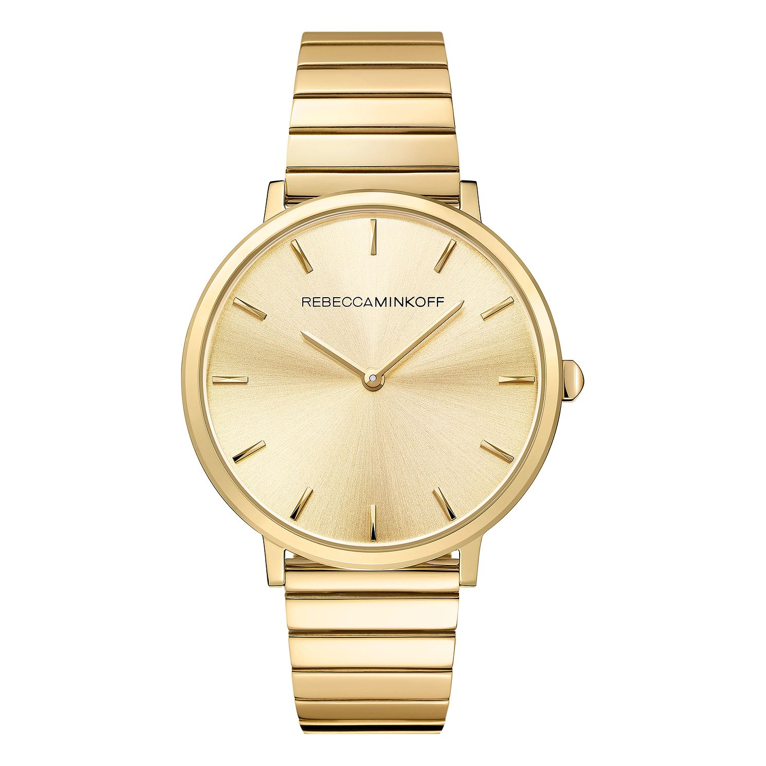 Rebecca Minkoff Major Ladies' Gold Tone Bracelet Watch - Product number 9745408