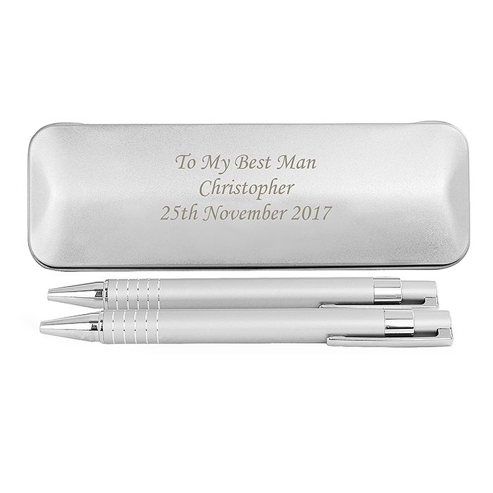 Engraved 2 Pen Box Set - Product number 9746072