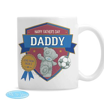 Personalised Me To You Football Ceramic Mug - Product number 9746102