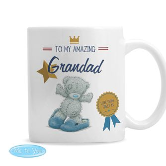 Personalised Me To You Slippers Ceramic Mug - Product number 9746110