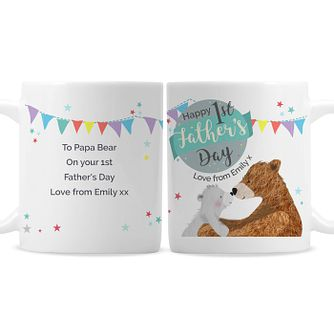 Personalised 1st Father's Day Daddy Bear Mug - Product number 9746137