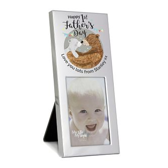 Personalised 1st Father's Day Daddy Bear 2x3 Photo Frame - Product number 9746145