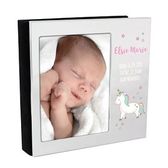 Personalised Baby Unicorn Frame Album 4x6 - Product number 9746412