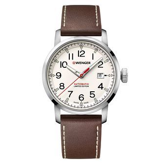 Wenger Limited Edition Tan Leather Strap Watch - Product number 9746501
