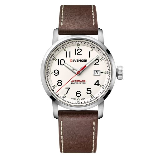 Wenger Attitude Limited Edition Tan Leather Strap Watch - Product number 9746501