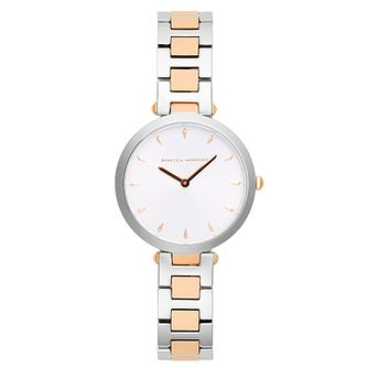 Rebecca Minkoff Two-Tone T-Bar Bracelet Watch - Product number 9746897