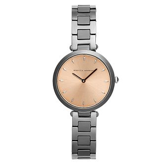 Rebecca Minkoff New T-Bar Ladies' Ip Bracelet Watch - Product number 9746900