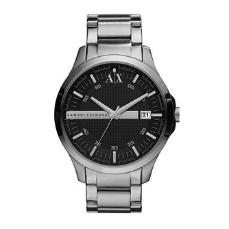 Armani Exchange Men's Dark Grey Stainless Steel Watch - Product number 9749128