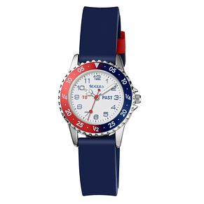 Blue Silicone Strap Time Teacher Watch - Product number 9751882