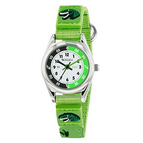Tikkers Green Dinosaur Strap Time Teacher Watch - Product number 9751904