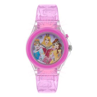 Disney Princes Light Up Case Pink Glitter Strap - Product number 9751955