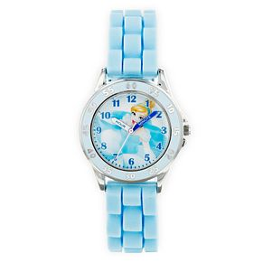 Disney Cinderella Blue Rubber Strap Time Teacher Watch - Product number 9751963