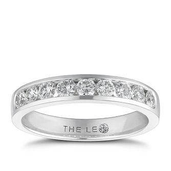 Leo Diamond18ct white gold 1/2ct I-I1 eternity ring - Product number 9756019