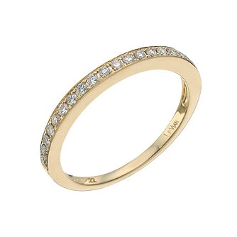 Le Vian 14ct Honey Gold 0.22ct Diamond Band - Product number 9758712