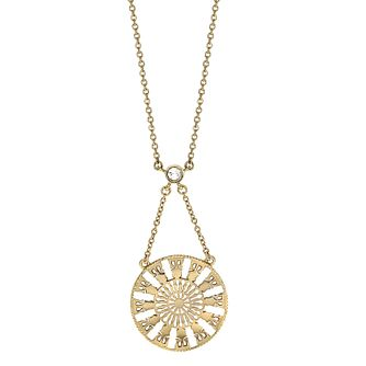 Ever After Disney Gold Plated Belle Lumiere Pendant - Product number 9773614