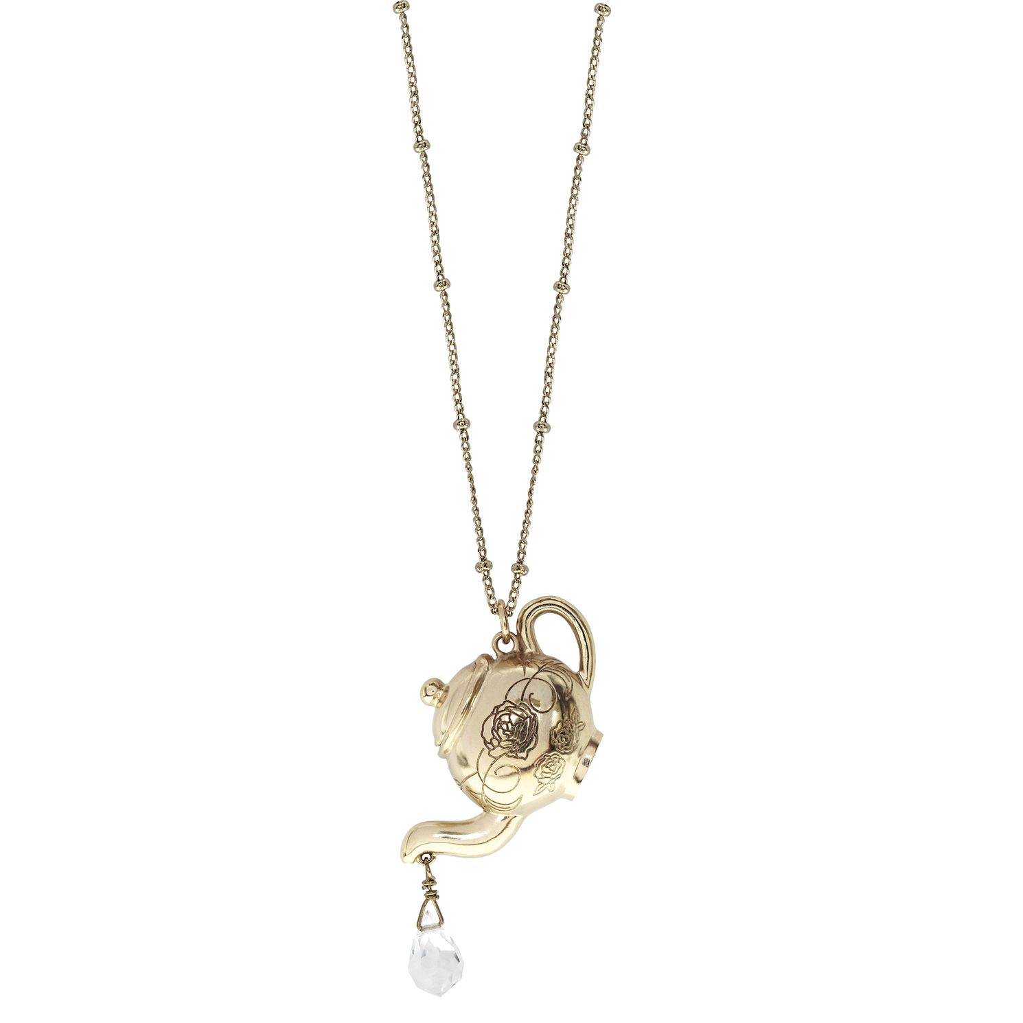 Ever After Disney Gold Plated Belle Mrs Potts Pendant - Product number 9773649