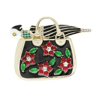 Ever After Disney Gold Plated Mary Poppins Bag Brooch - Product number 9774203