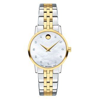Movado Museum Classic Ladies' Two-Tone Bracelet Watch - Product number 9774246