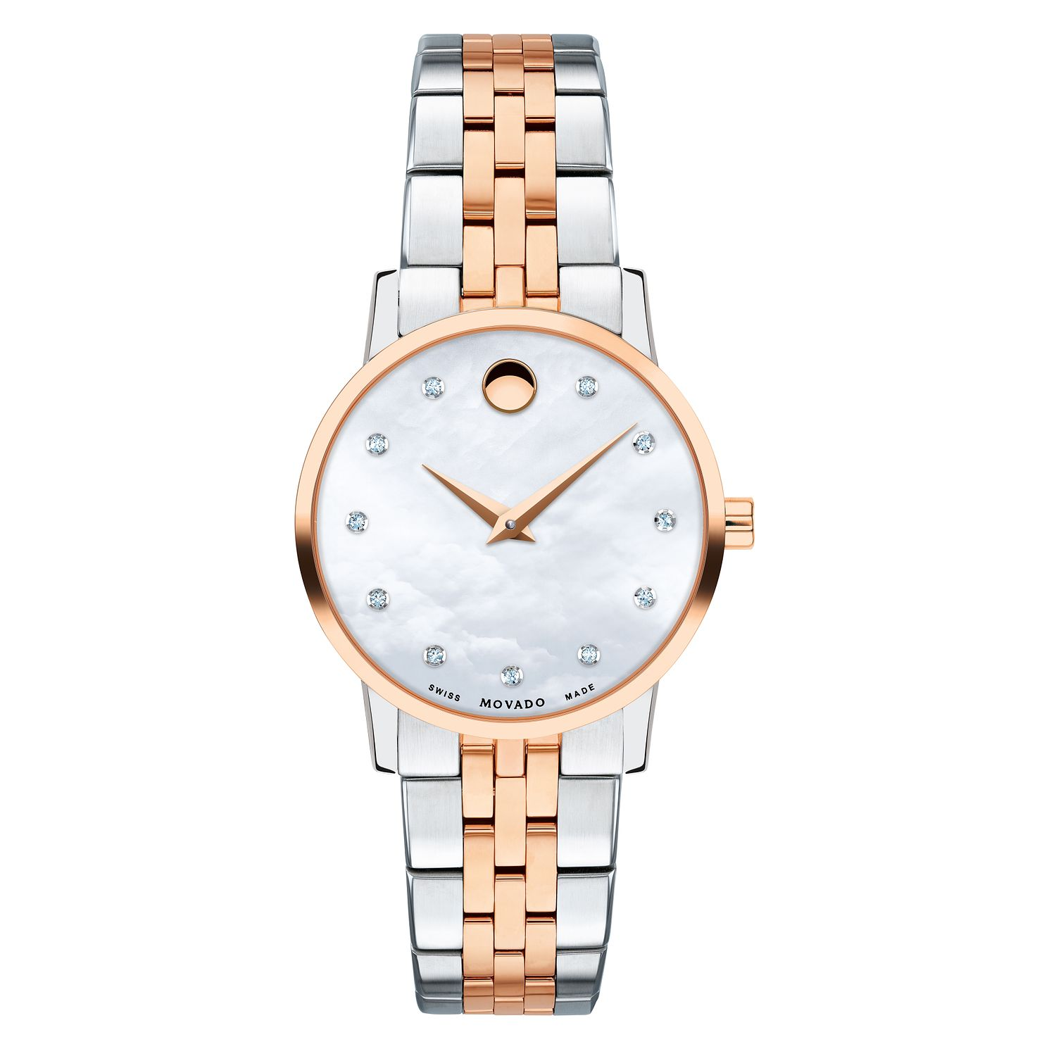 Movado Museum Classic Ladies' Two-Tone Bracelet Watch - Product number 9774254