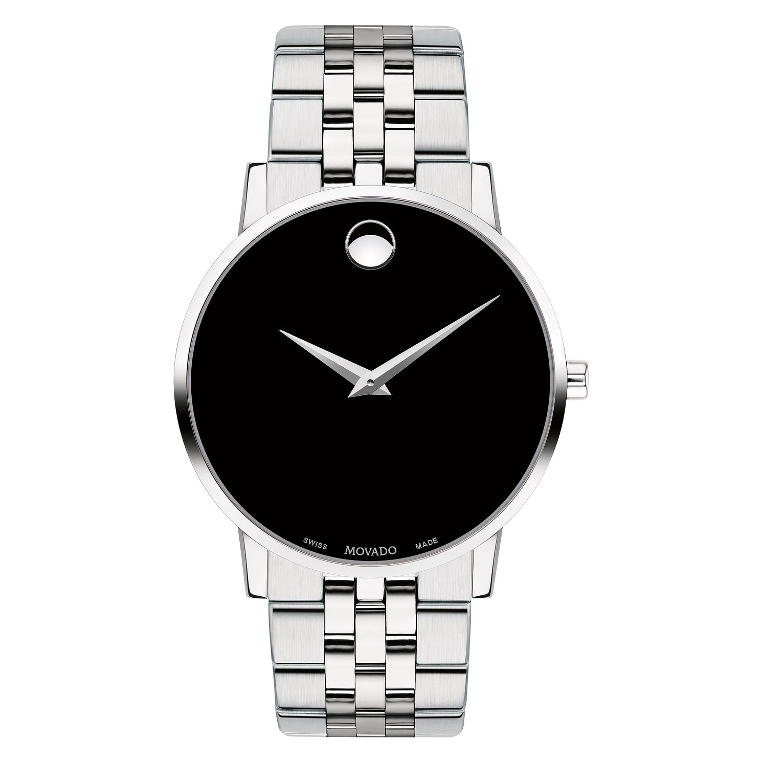 Movado Museum Men's Stainless Steel Bracelet Watch - Product number 9774386