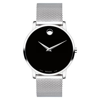 Movado Men's Museum Classic Stainless Steel Bracelet Watch - Product number 9774408