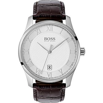 Hugo Boss Stainless Steel Silver Strap Watch - Product number 9779833