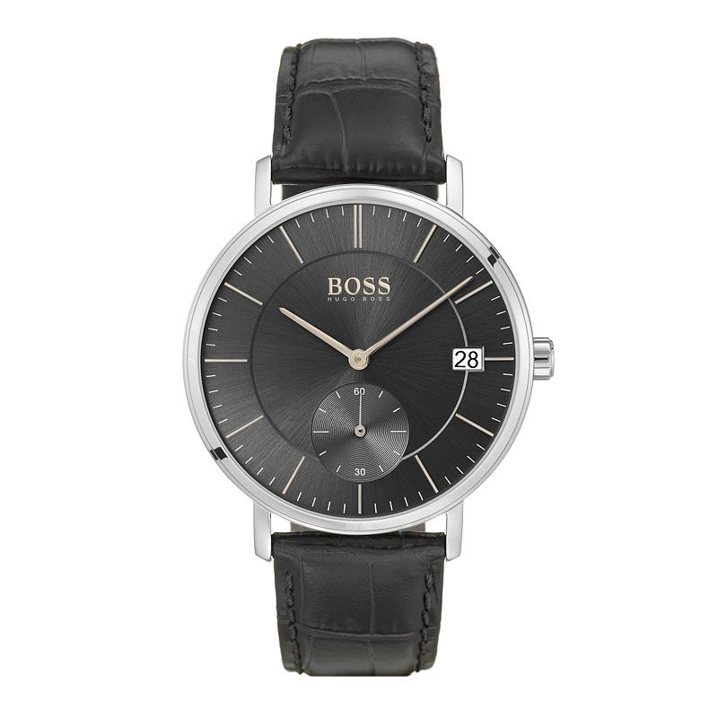 BOSS Men's Corporal Black Strap Watch - Product number 9779884