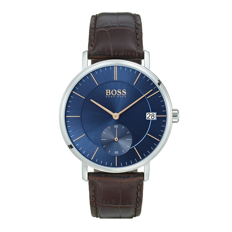 BOSS Corporal Men's Blue Strap Watch - Product number 9779892
