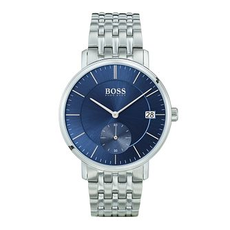 Hugo Boss Corporal Men's Blue Bracelet Watch - Product number 9779922