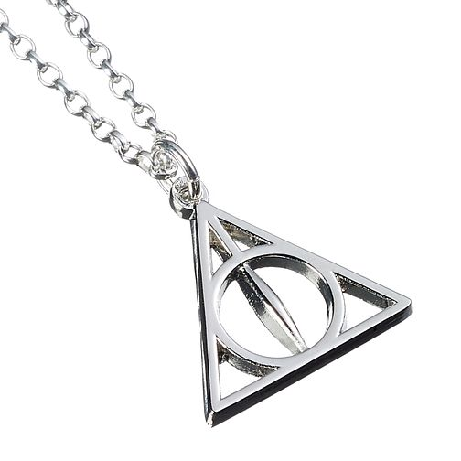 Harry Potter Silver Deathly Hallows Necklace - Product number 9781293