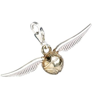 Harry Potter Sterling Silver Golden Snitch Charm - Product number 9781374