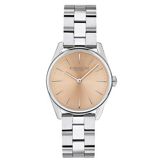 Coach Modern Luxury Ladies' Stainless Steel Bracelet Watch - Product number 9783709