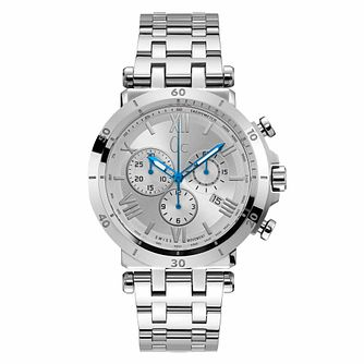 Gc Insider Men's Chronograph Stainless Steel Bracelet Watch - Product number 9783822
