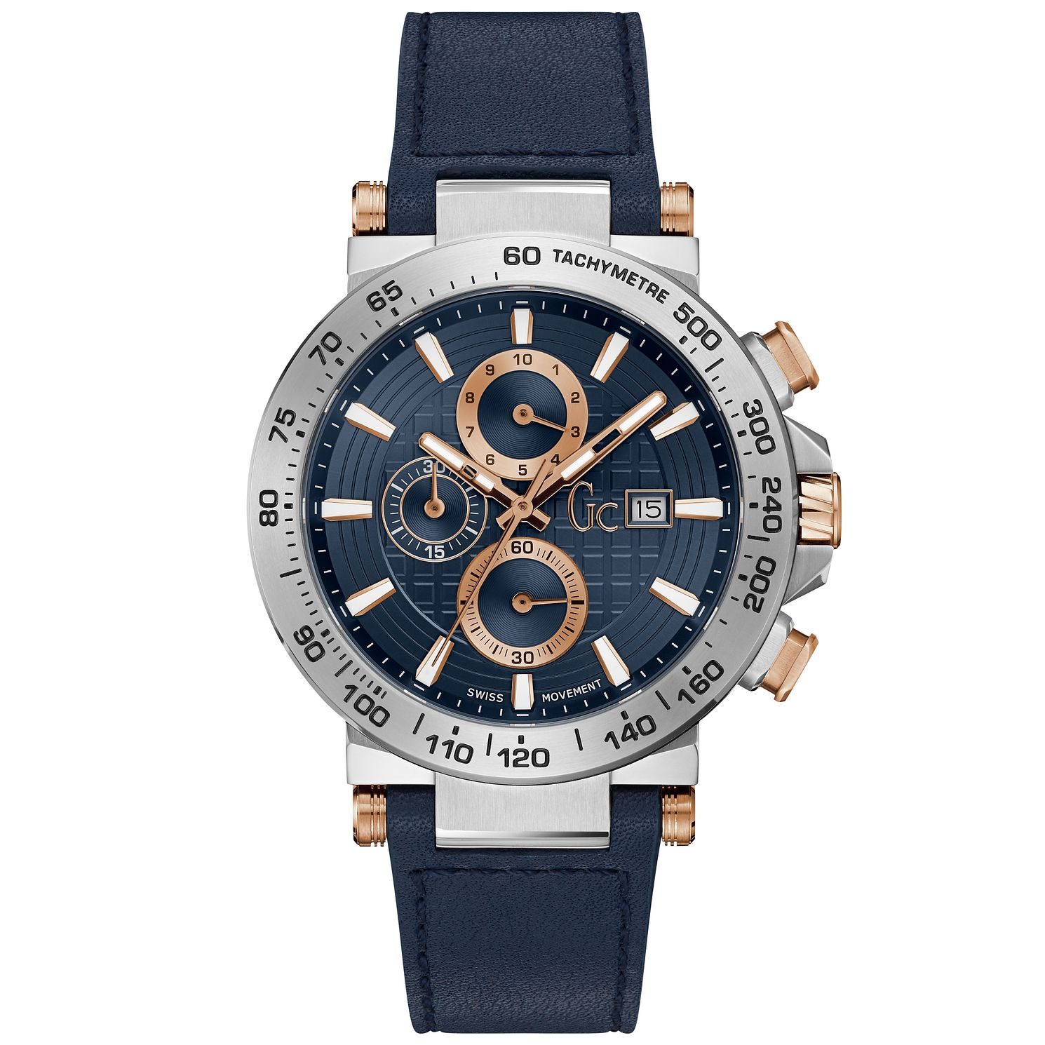 Gc Urbancode Men's Dark Blue Silicone Strap Watch - Product number 9783865