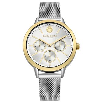 Daisy Dixon Heidi Silver Mesh Strap Watch - Product number 9784586