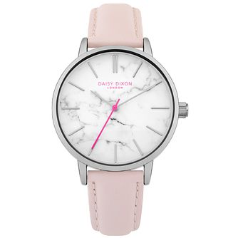 Daisy Dixon Nancie Pink Leather Strap Watch - Product number 9784705