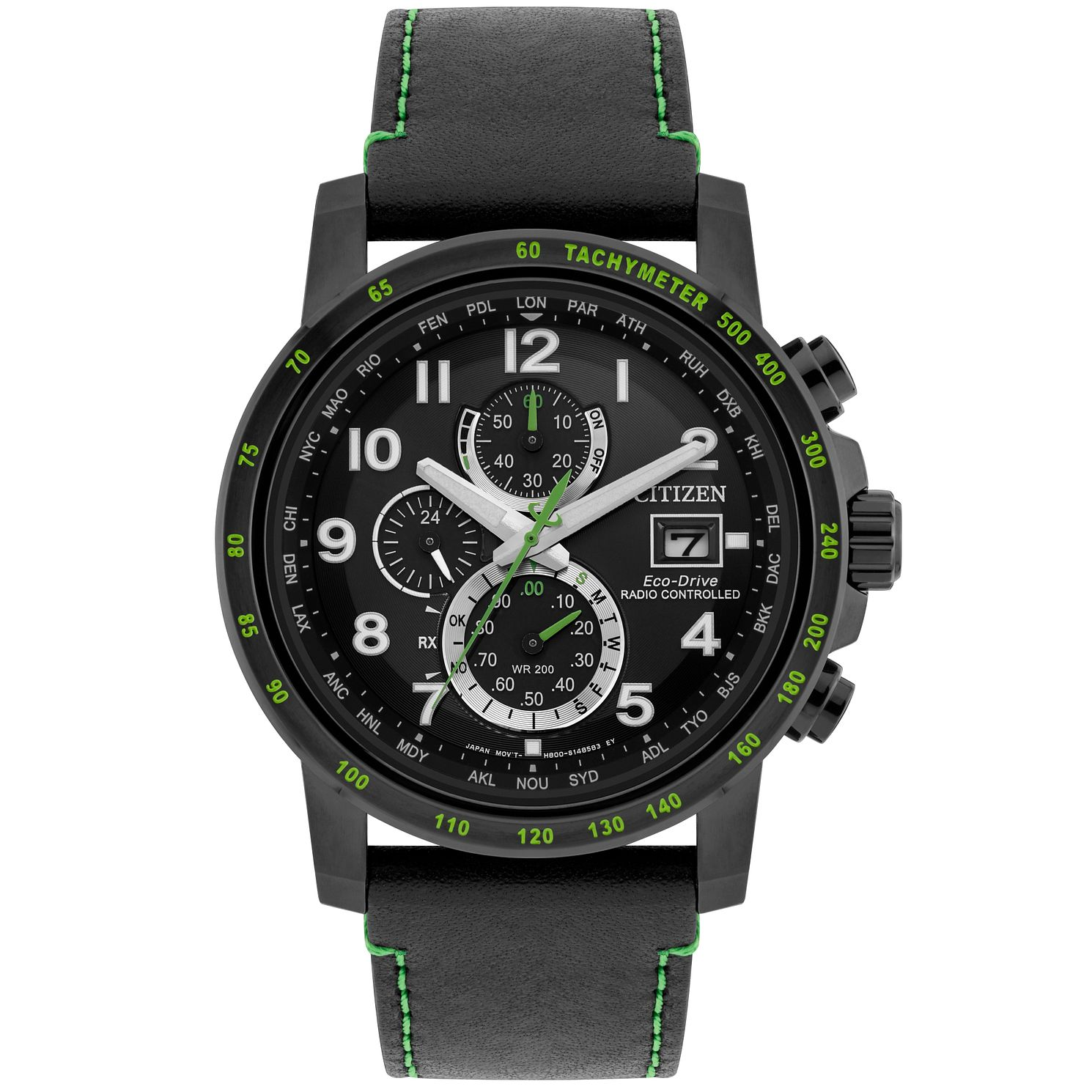 Citizen Men's Eco-Drive Radio Controlled Chronograph Watch - Product number 9784799