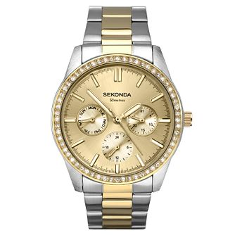 Sekonda Two-Tone Stainless Steel Bracelet Watch - Product number 9784810