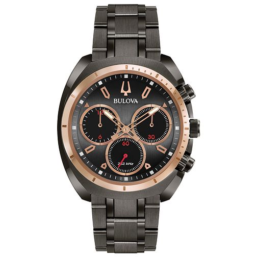 fe001471d Bulova Men's Curv Chronograph Stainless Steel Bracelet Watch - Product  number 9784888