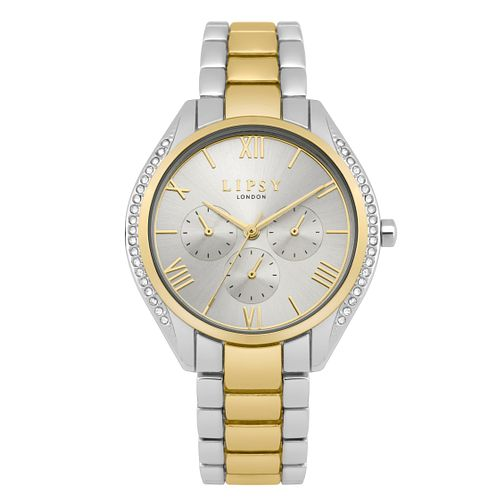 Lipsy Ladies' Two Tone Stainless Steel Bracelet Watch - Product number 9789650