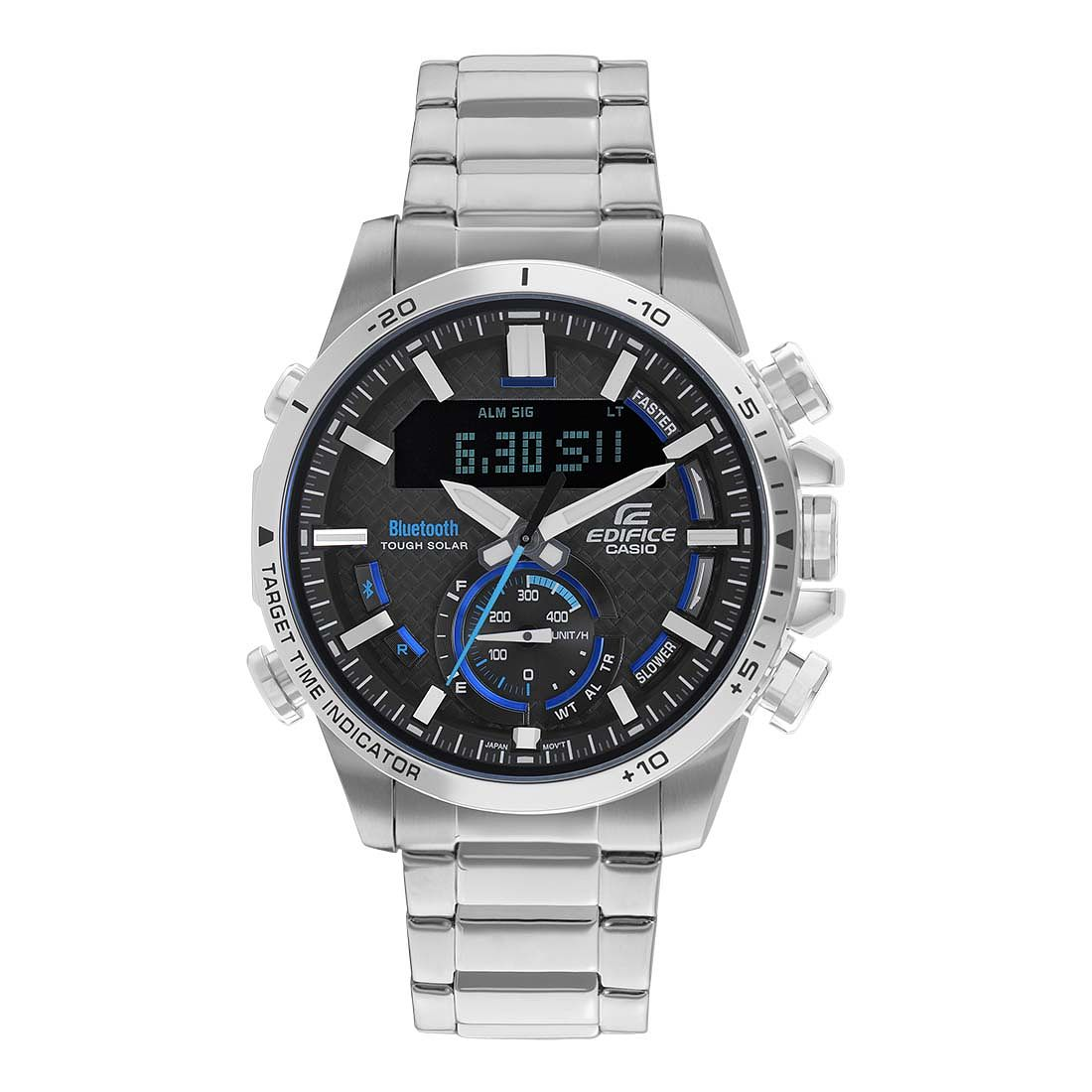 Casio Edifice Men's Silver Bluetooth Watch - Product number 9790071