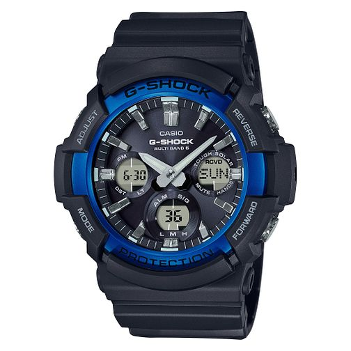 Casio G-Shock Men's Solar Powered Black Resin Strap Watch - Product number 9790217