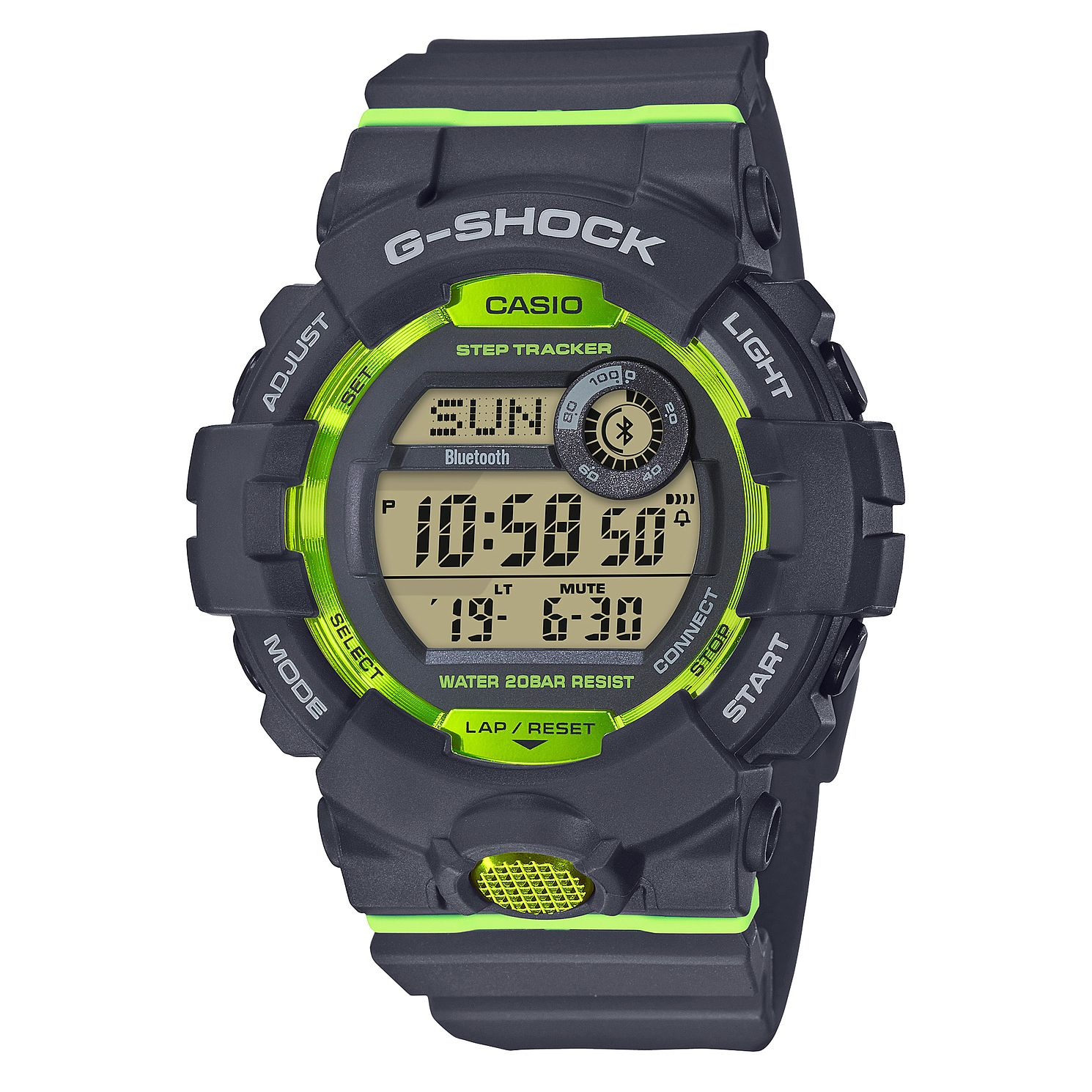 Casio G-Shock Men's Steptracker Grey Resin Strap Smartwatch - Product number 9790233