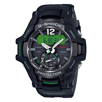 Casio G-Shock Gravitymaster Men's Black Resin Bracelet Watch - Product number 9790268