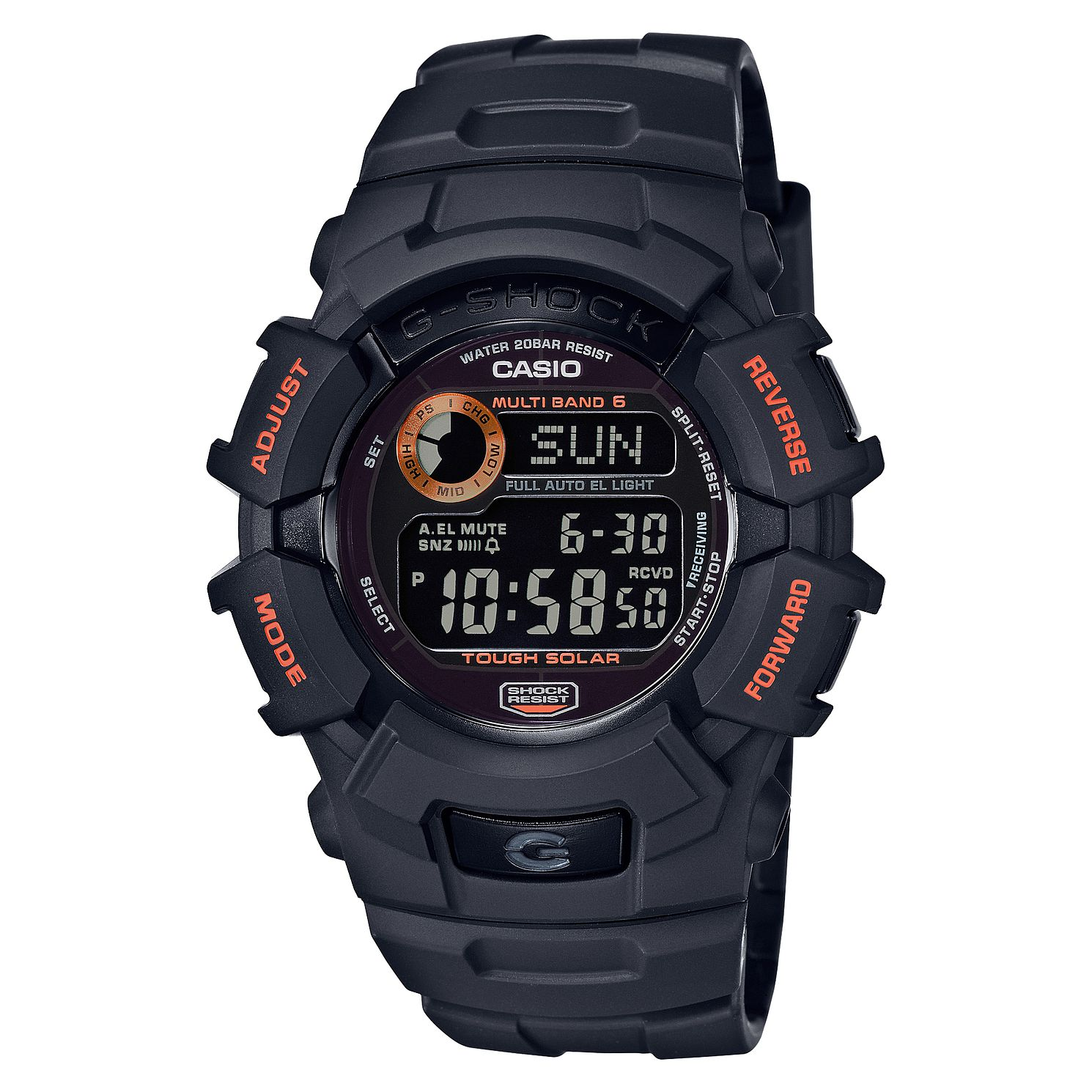 Casio G-Shock Fire Package Men's Black Resin Strap Watch - Product number 9790330