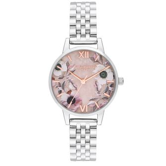 Olivia Burton Semi Precious Stainless Steel Bracelet Watch - Product number 9791205