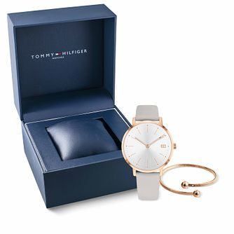 4bfc15de4 Tommy Hilfiger Ladies' Watch & Bangle Gift Set - Product number 9792635